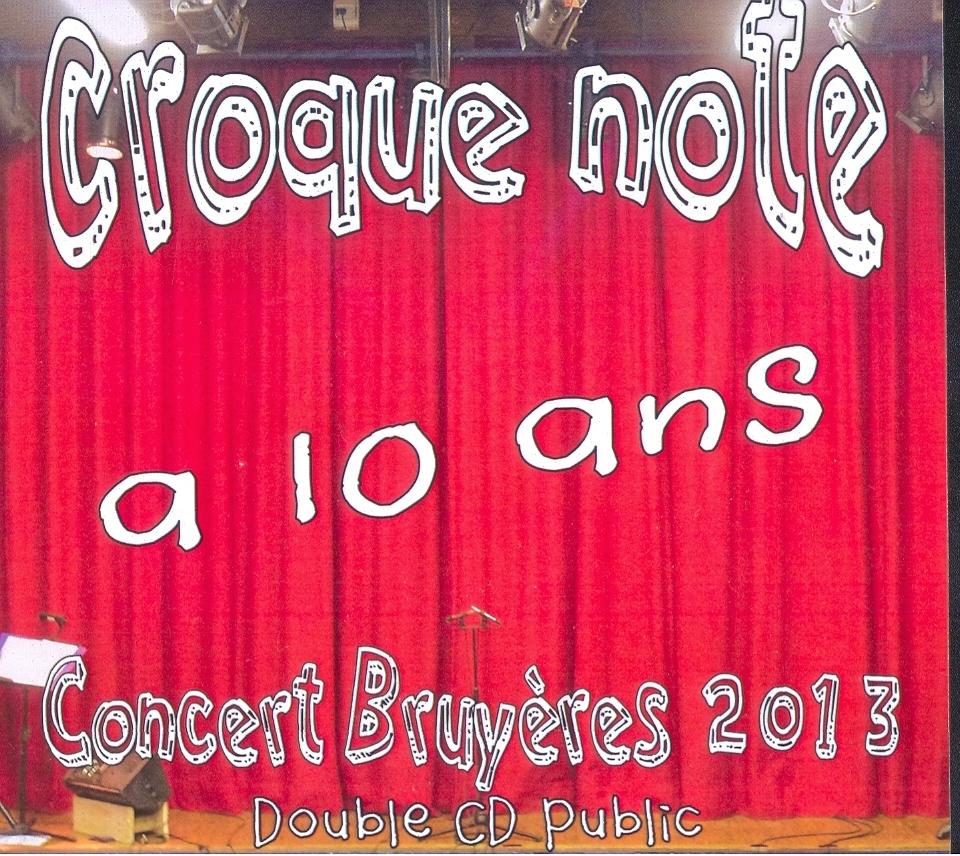 2013 Concert Public double CD